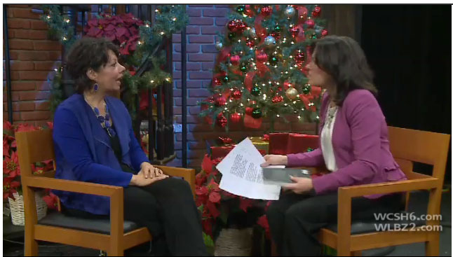 Susan's interview 207 WCSH6 with Kathleen Shannon